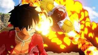 One Piece: World Seeker - Open World Gameplay & Boss Fight (TGS 2018)