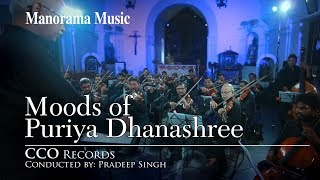 MOODS OF PURIYA DHANASHREE | Pradeep Singh | CCO Records | Western Classical Orchestra