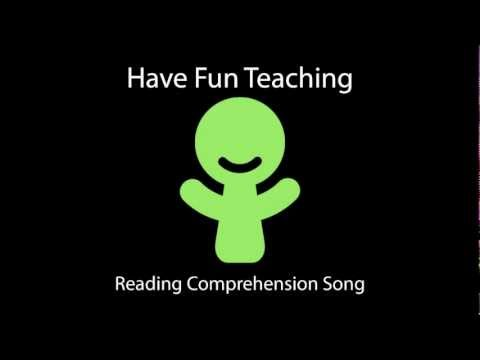 Reading Comprehension Song  Audio