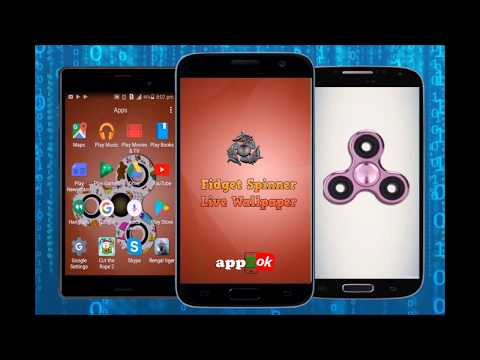 Fidget Spinner Live Wallpaper
