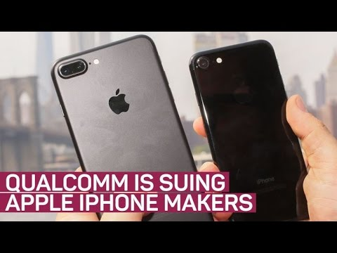 Qualcomm files lawsuit against Apple iPhone and iPad makers