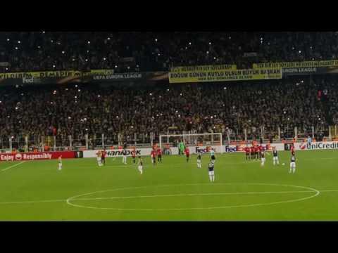 Jeremain Lens Frikik Golü | Fenerbahçe 2-1 Manchester United