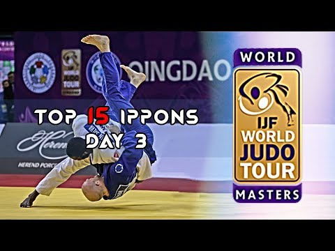 Top 15 Ippons In Day 3 Of World Judo Masters Qingdao 2019