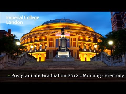 Imperial College London's Postgraduate Graduation 2012 ...