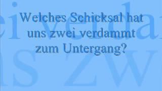 Aida - Sind die Sterne gegen uns? - lyrics