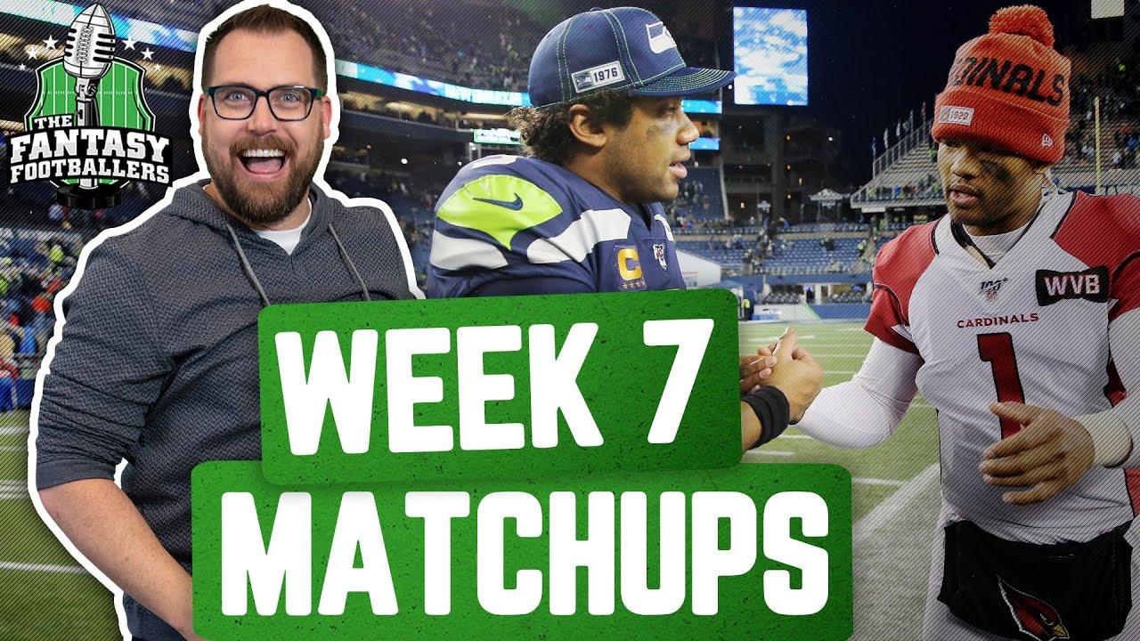 Fantasy Football 2020 - Week 7 Matchups + The Rumble Bumble Stumble - Ep. #969