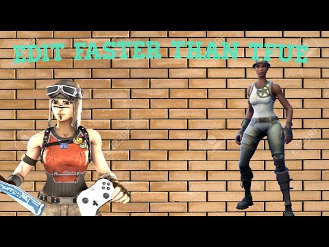 HOW To edit Faster Than TFUE