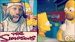 THE SIMPSONS HIT AND RUN GAMEPLAY WALKTHROUGH PART 2 - THE HOMIE BART!