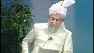Liqa Ma'al Arab 20th March 1997 Question/Answer English/Arabic Islam Ahmadiyya