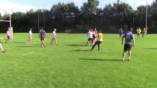 Ruck offence drills