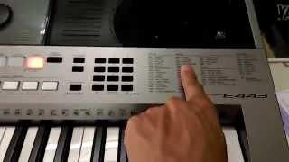 Hướng Dẫn Sử Dụng Yamaha E 443 Pianonguyenkien.com