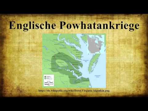 Englische Powhatankriege