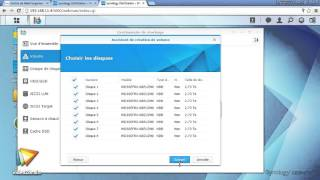 Tutoriel NAS Synology : Choisir son type de volume | video2brain.com