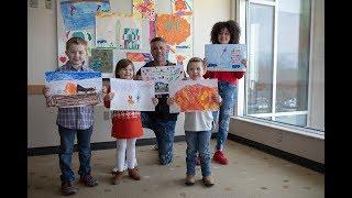 Children Design Paint Scheme for Erik Jones' Car - Racing for Miracles