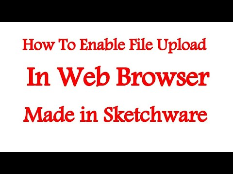 How to Enable File Upload in Webview|Sketchware Tutorials