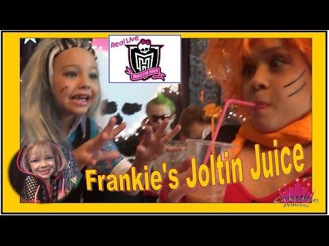 Real Live Monster High | 'Frankie's Joltin Juice' - Creative Princess