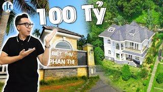 """CHOÁNG NGỢP TRƯỚC """"PHAN THỊ"""" Khu Biệt Thự 50,000m2 Trị Giá 100 Tỷ Đồng - NhaF [4K]"""