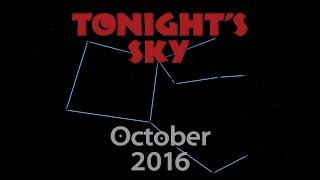 Tonight's Sky: October 2016