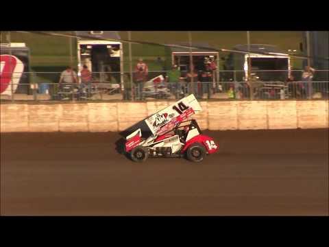 Lasalle Speedway  IRA Sprint Cars Time Trials  9 23 18