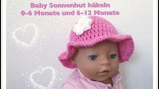 Super Einfache Babymütze 0 6 Monate Häkeln Für Anfänger