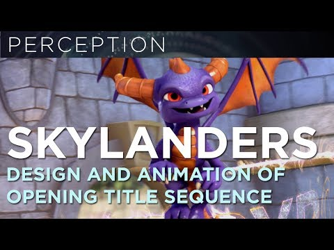 Netflix Skylanders Academy Title Sequence Design and Animation