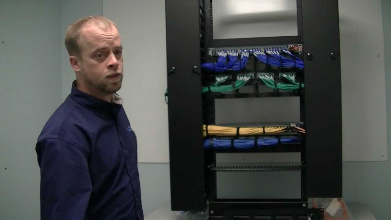 HDC 56 Cable Management Solution For 1U Switches YouTube