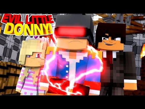 Minecraft Adventure - EVIL JOHNATHON'S MIND CONTROL MACHINE TURNS DONNY EVIL!!