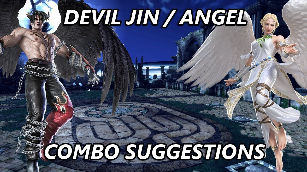 Tekken Tag Tournament 2 - Devil Jin/Angel Combo ...