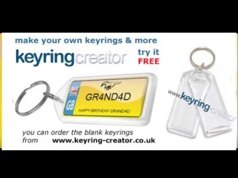 Software | With Keyring Creator you can make your own