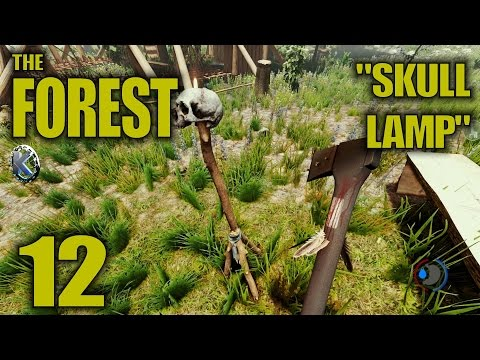 "The Forest Alpha 0.21 Gameplay / Let's Play (S-6) -Ep. 12- ""Skull Lamp"""