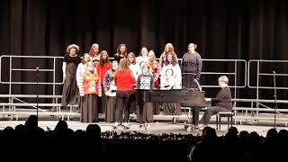 Cabot Freshman Academy and High school Choir - December 2018 HD