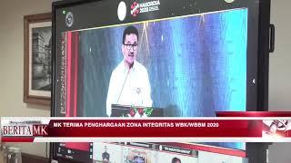 Pusdik Pancasila Dan Konstitusi Raih Anugerah Zona Integritas WBK