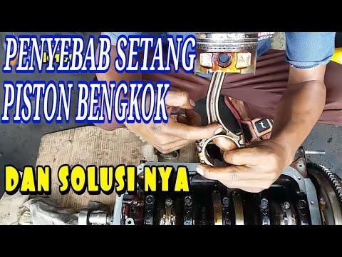 SETANG PISTON BENGKOK MESIN NGEJIM PENYEBAB DAN SOLUSINYA#Bayu Putra Motor