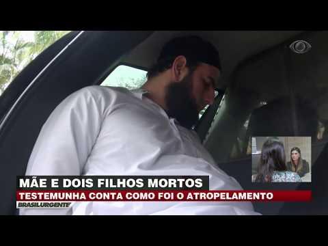 SP: Homem atropela mãe e dois filhos morrem