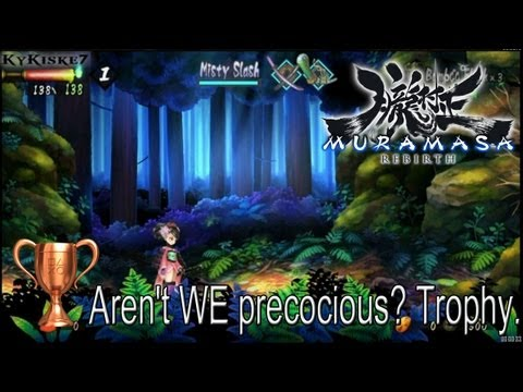 Muramasa Rebirth - Aren't WE Precocious? Trophy Guide