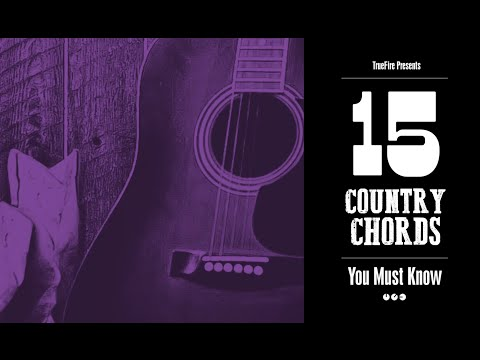 15 Country Guitar Chords You MUST Know