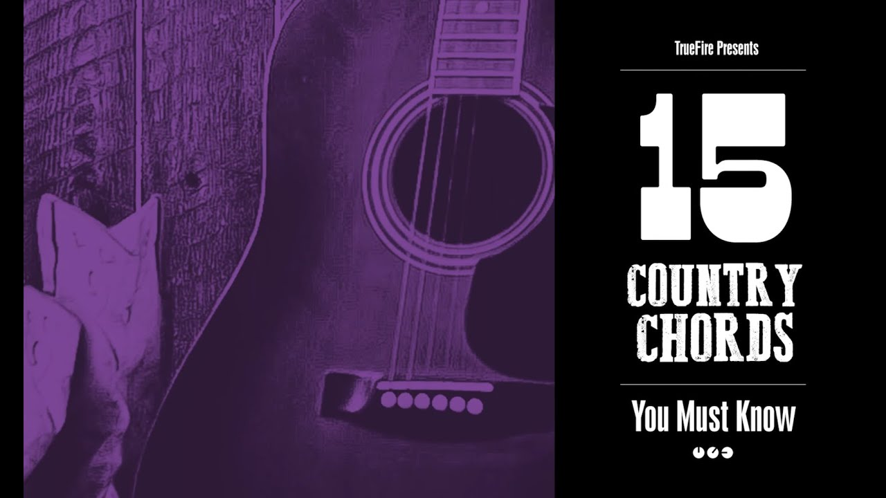15 Country Guitar Chords You Must Know Youtube