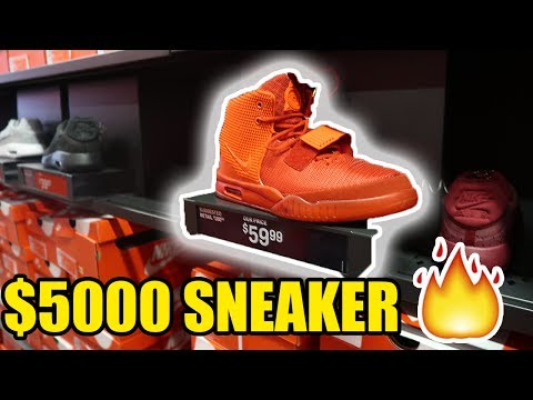 I PUT FAKE $5000 YEEZYS FOR SALE AT NIKE OUTLET!! (GONE HORRIBLY WRONG)