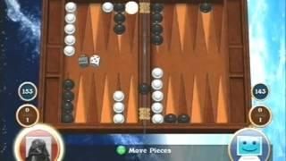 Hardwood Backgammon - Game Corner Retro