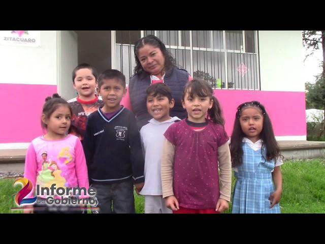Con Hechos - Se construyen desayunadores en Zitácuaro