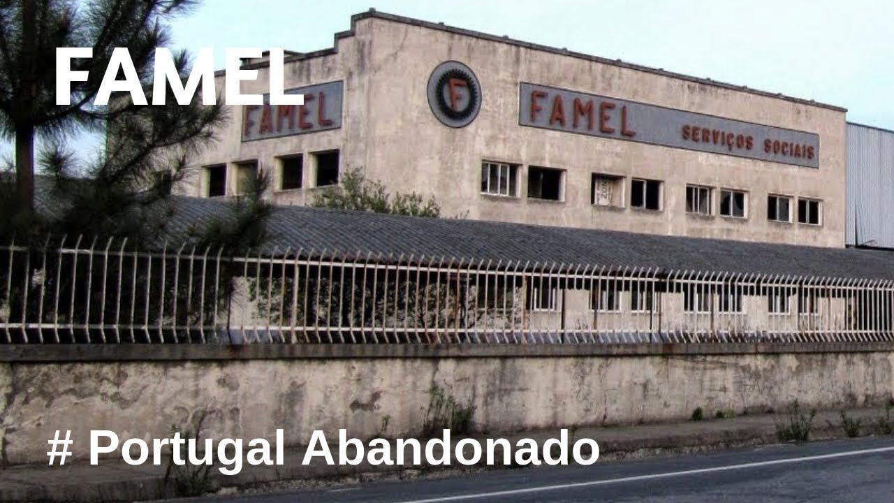 Portugal Abandonado - Fábrica de Motas Famel