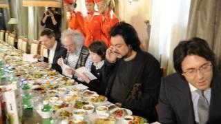 """Звезды на дегустации нового меню """"Аэрофлота"""""""