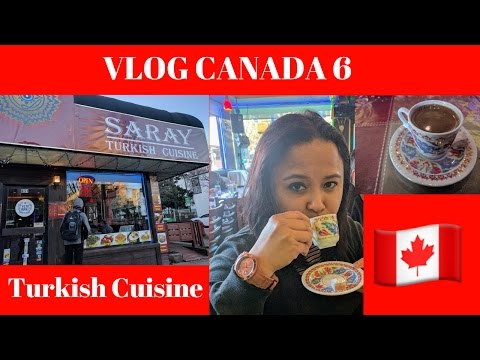 Vlog Canada 6 l Turkish Cuisine in Vancouver l Lunch with friends