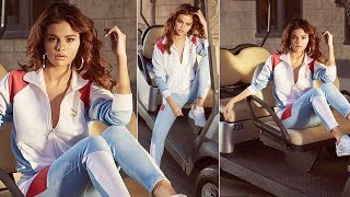 Selena Gomez looked very confident in the new Puma image
