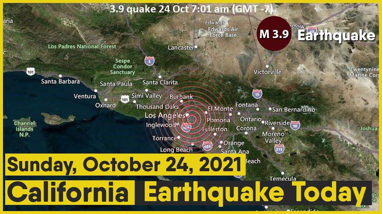 Magnitude 3.6 earthquake reported near Los Angeles
