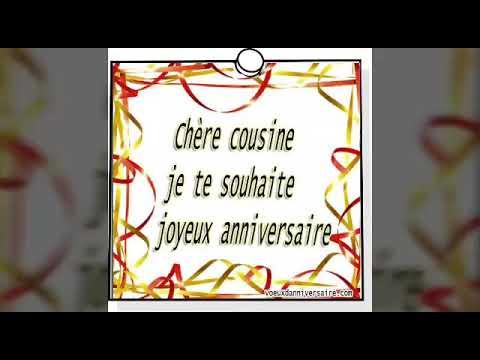 Joyeux Anniversaire Ma Belle Cousine Tilus Rosie Youtube