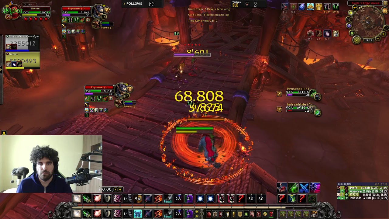 disc priest solo DH at 2500 mmr - Most Popular Videos
