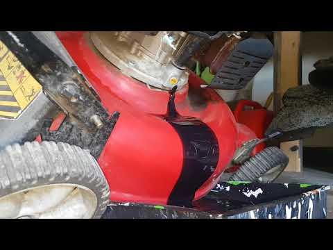 Oil Change Yard Machines Mower