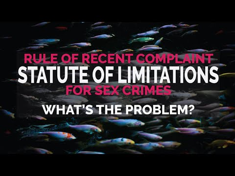 Statute Of Limitations (SOL) For Sex Crimes - Why We Need To Bring It Back
