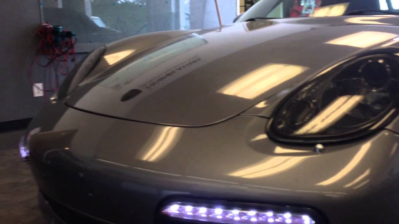 Porsche 987 Boxster Drc Led Day Time Running Bumper Lights
